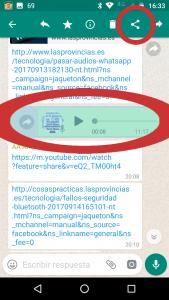 PixworD. Voz a texto. Compartir