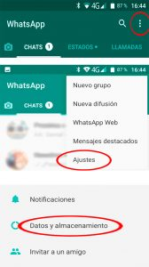01 Ajustes - Liberar memoria whatsapp01 Ajustes - Liberar memoria whatsapp