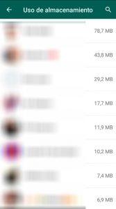 04 Uso almacenamiento - Liberar memoria whatsapp