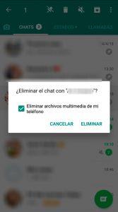 08 Borrar todo - Liberar memoria Whatsapp
